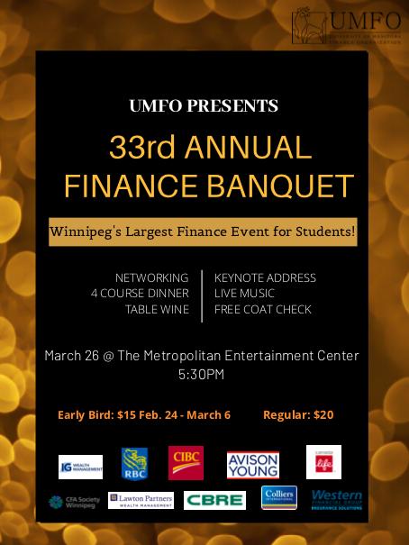 33rd Annual UMFO Banquet