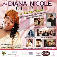 Diana Nicole's Listening Party MEDIA PASS ONLY