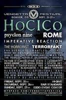 VENDETTA FESTIVAL 2009 feat. Hocico, Rome, Psyclon...