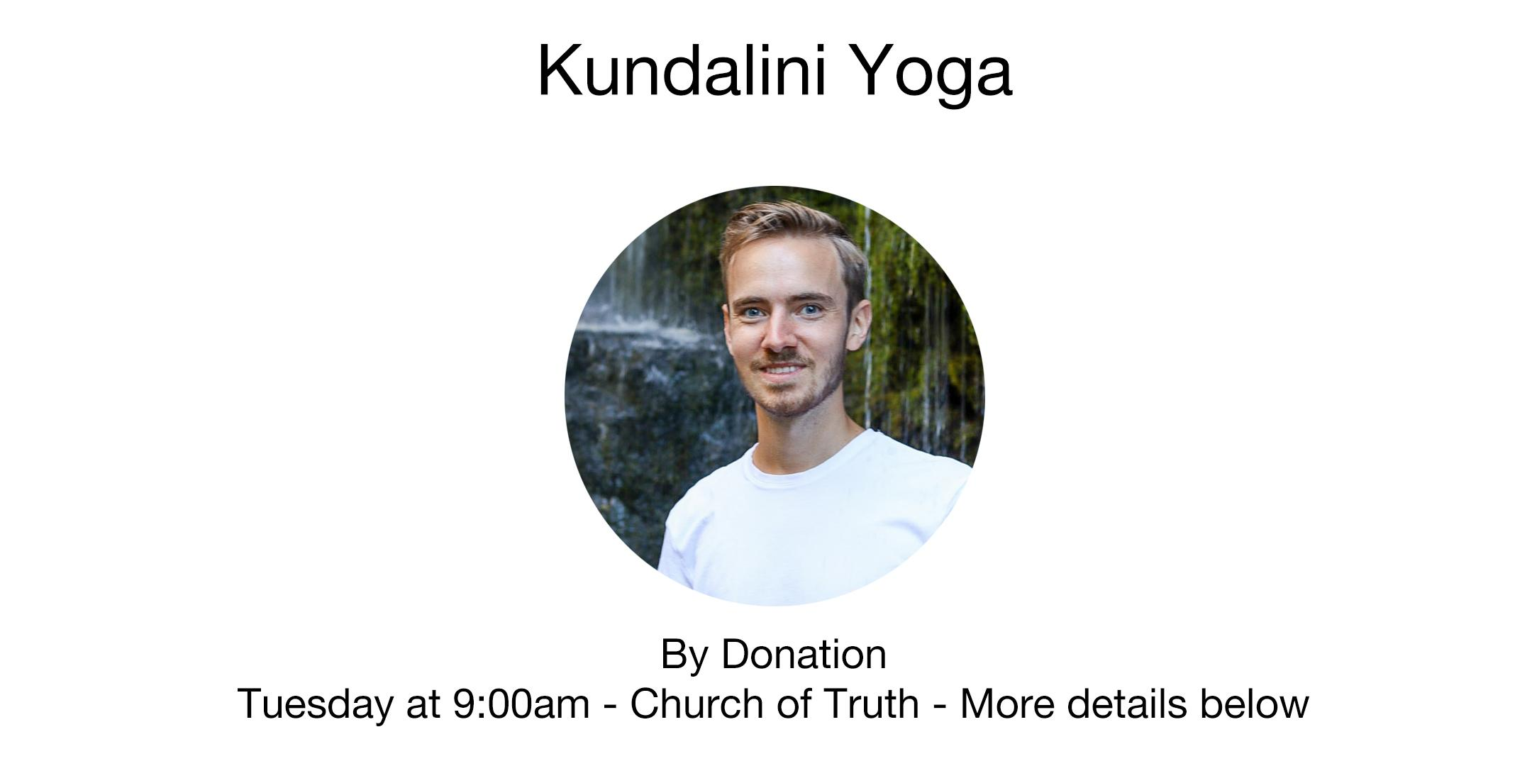 Kundalini Yoga with Tanner Cartier