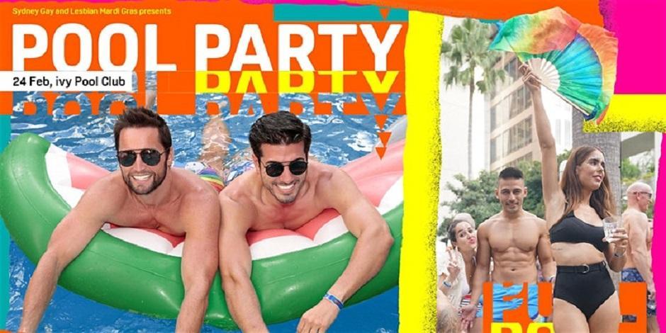 Mardi Gras Pool Party