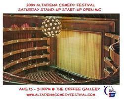 2009 Altadena Comedy Festival - SATURDAY STAND-UP...