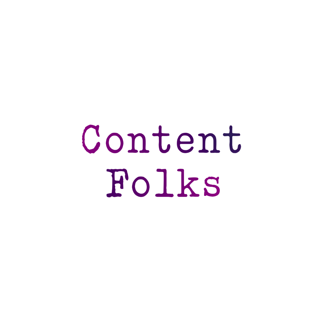 Content Folks - March 2020