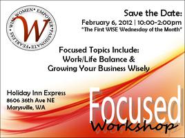 WISE Women | Focused Workshop February 2013
