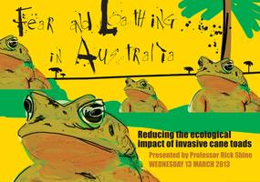 Ecological invaders: reducing the impact of cane toads...