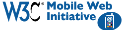 Introduction to W3C's Mobile Web Best Practices - Live!