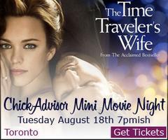 ChickAdvisor Mini Movie Night: Time Traveler's Wife