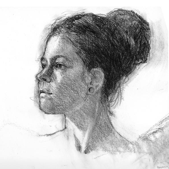 Spr20OP1 - Portrait Drawing/Painting, Tues. Apr 14 - May 19- 3:45 - 5:45 pm
