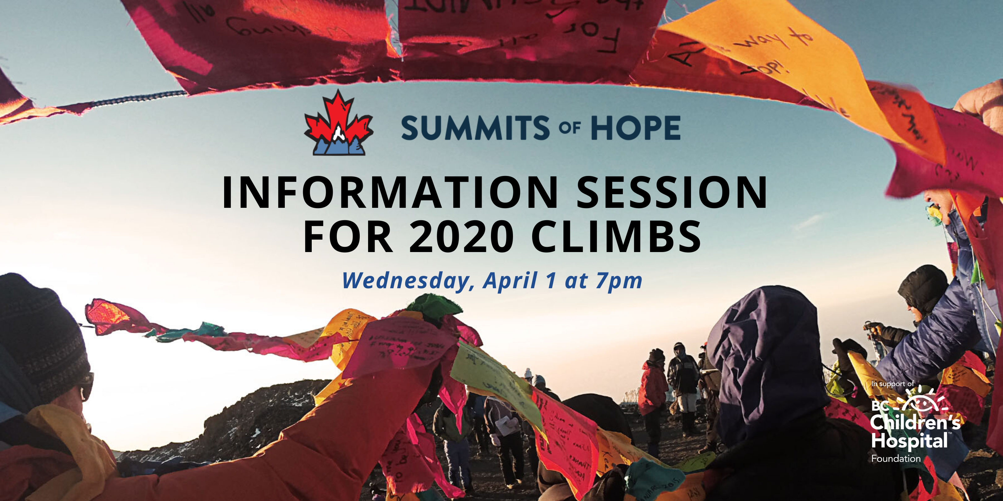 Summits of Hope 2020 Information Session