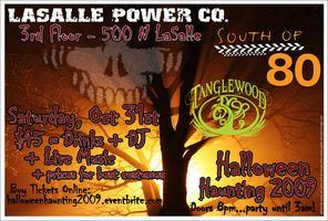 Halloween Haunting 2009 at Lasalle Power Company!!