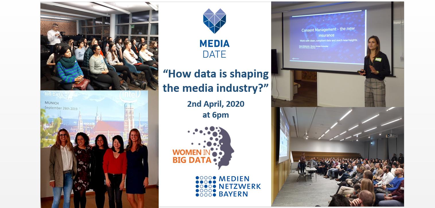 Women in Big Data Afterwork at MedienNetzwerk Bayern