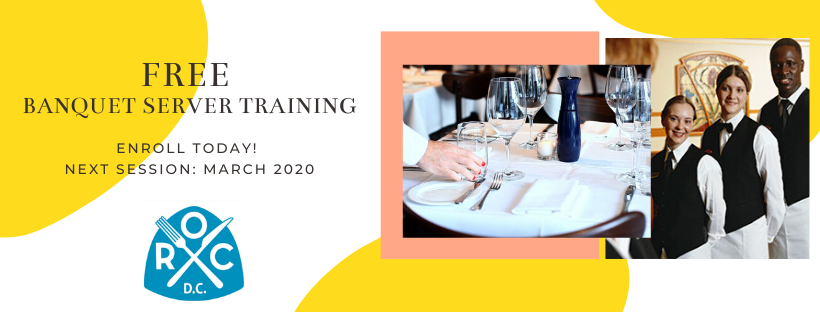 FREE Banquet Serving Training