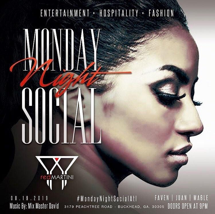 Monday Night Social @ Red Martini (Suspended till Further Notice)