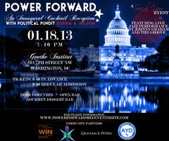 Power Forward: An Inaugural Cocktail Reception