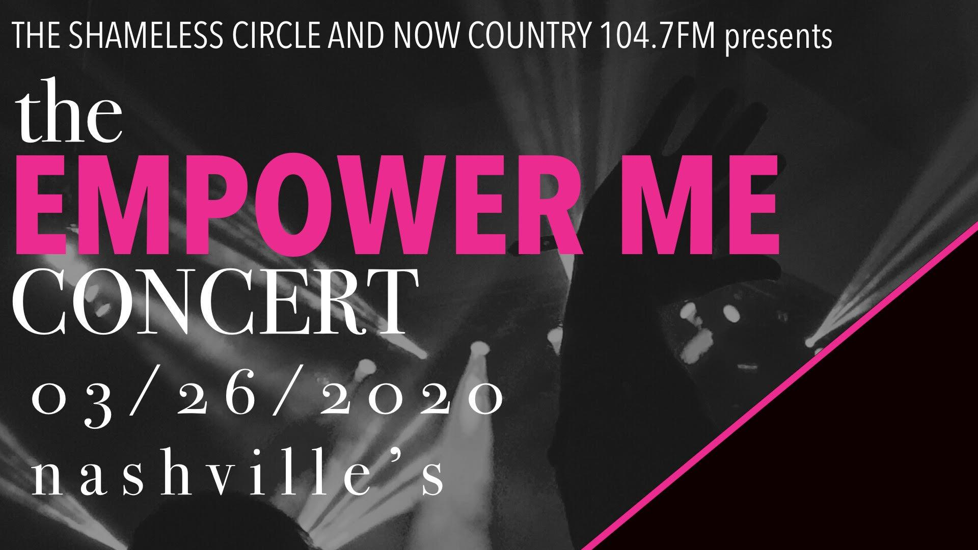 The Empower Me Concert