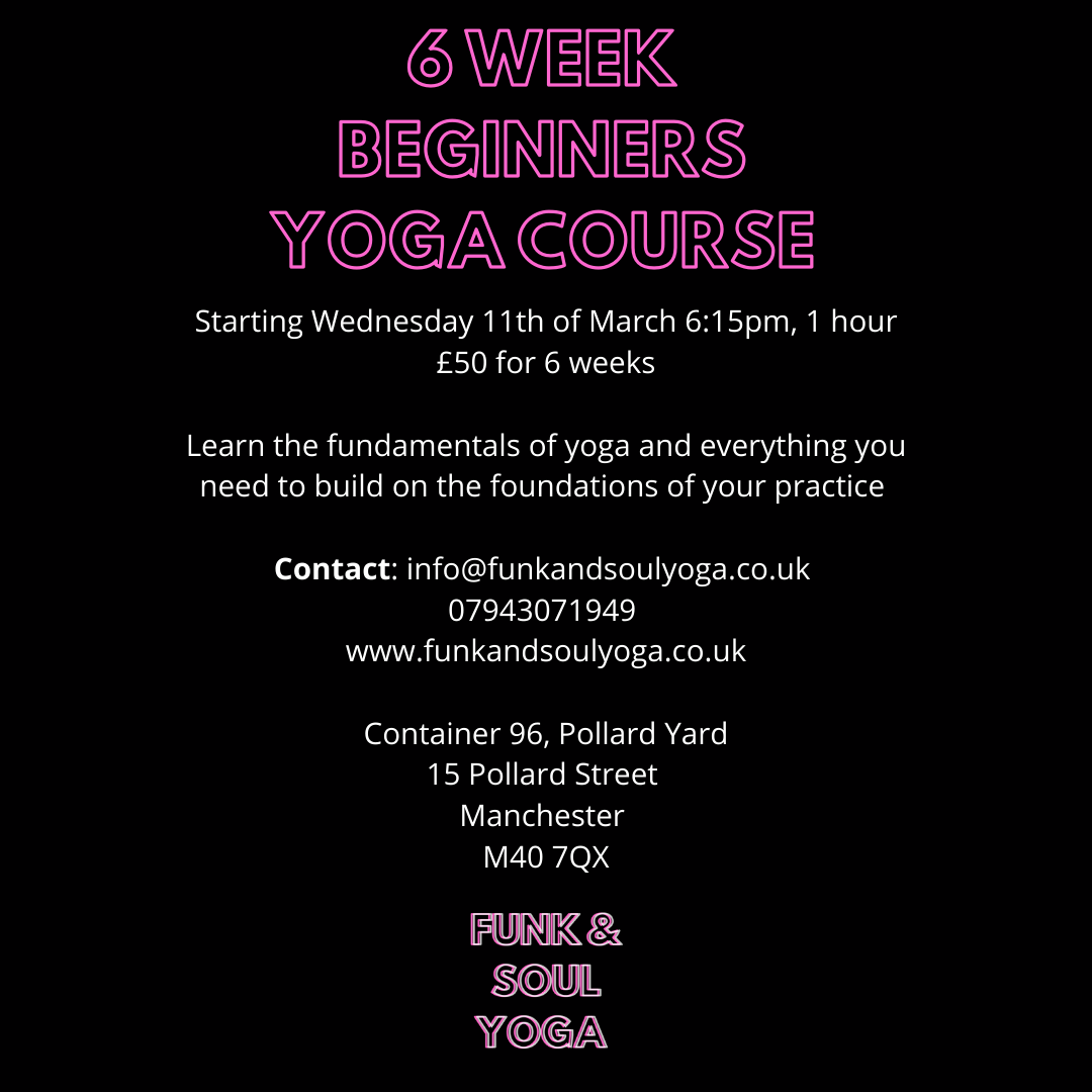 6 Week Beginner's Yoga Course