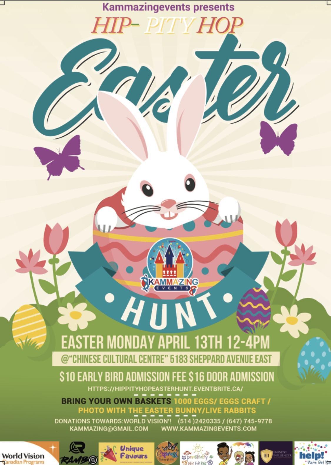Hip-Pity Hop Easter Hunt !