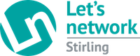 Let's network | Stirling logo