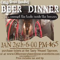 Oskar Blues Brewery Beer Dinner