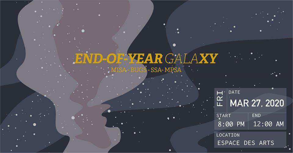 Welcome to the GALAxy: Hosted by BUGS x MISA x MPSA x SSA