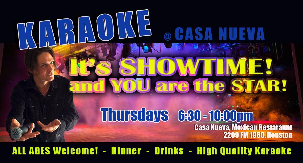 Karaoke and Mexican Food