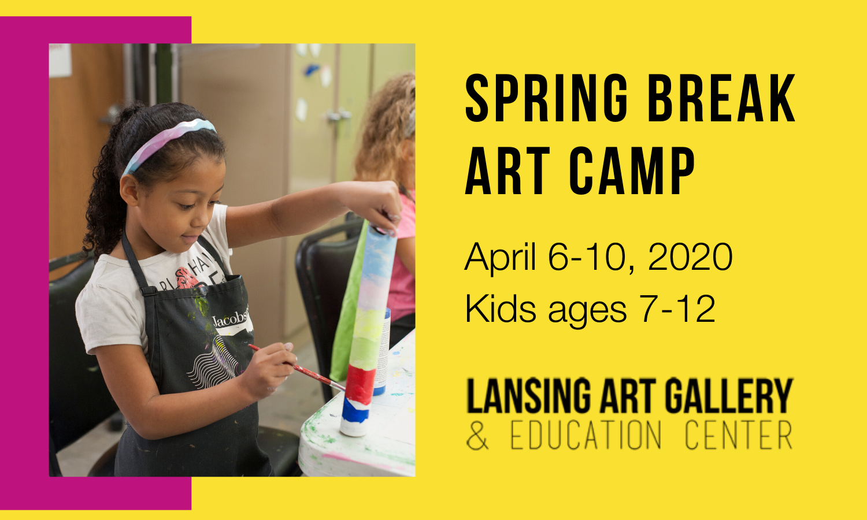 Spring Break Art Camp - April 6-10