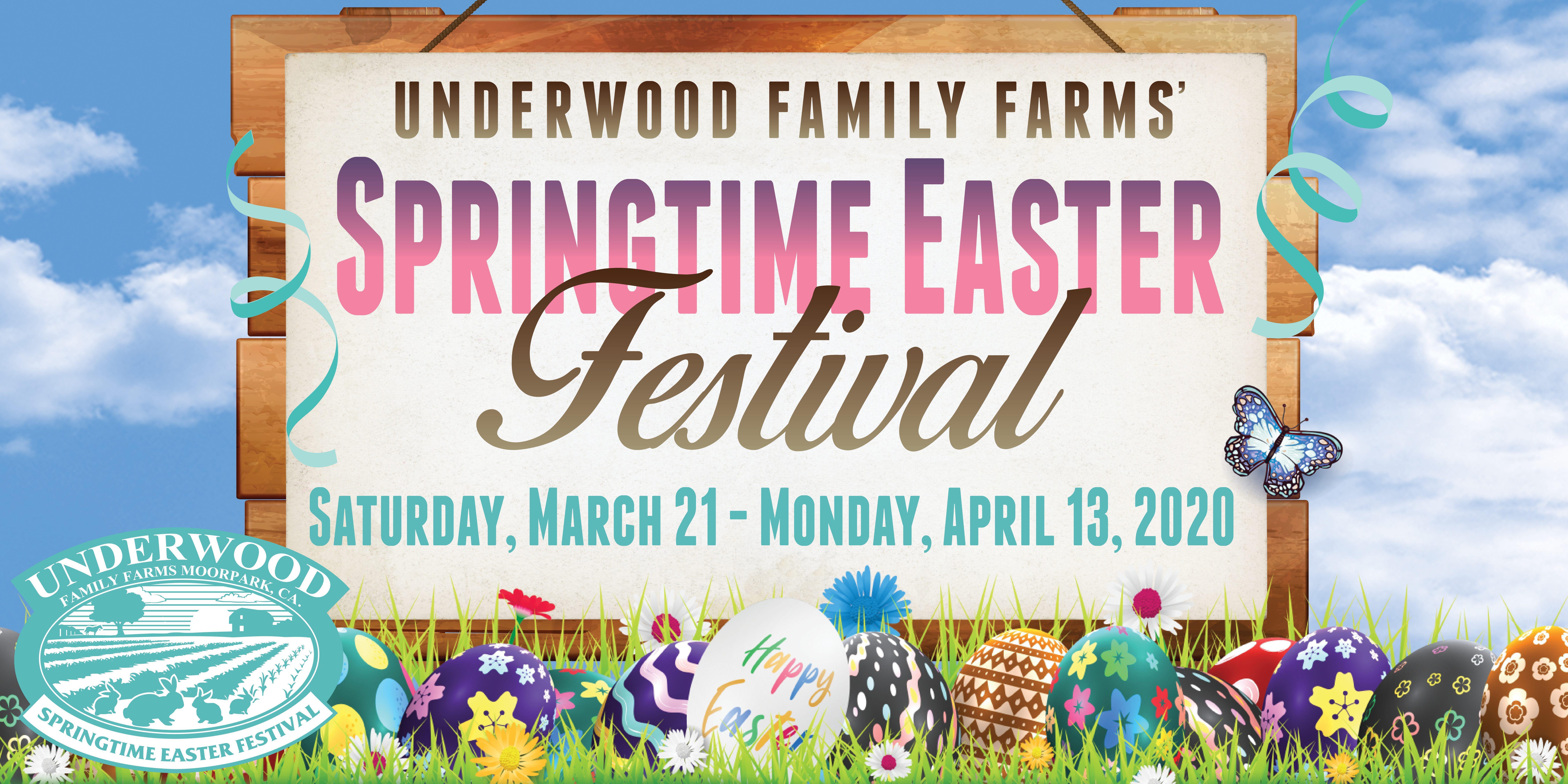 Underwood Family Farms' Springtime Easter Festival 2020
