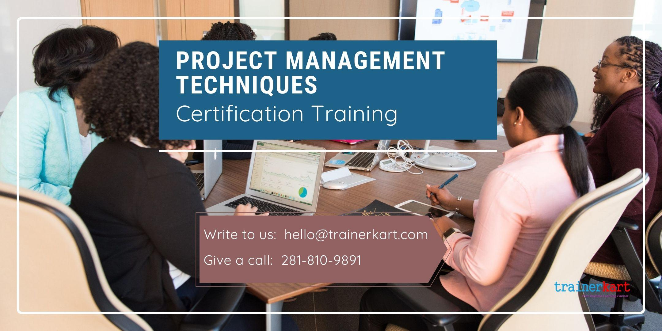 Project Management Techniques Certification Training in Columbia, SC