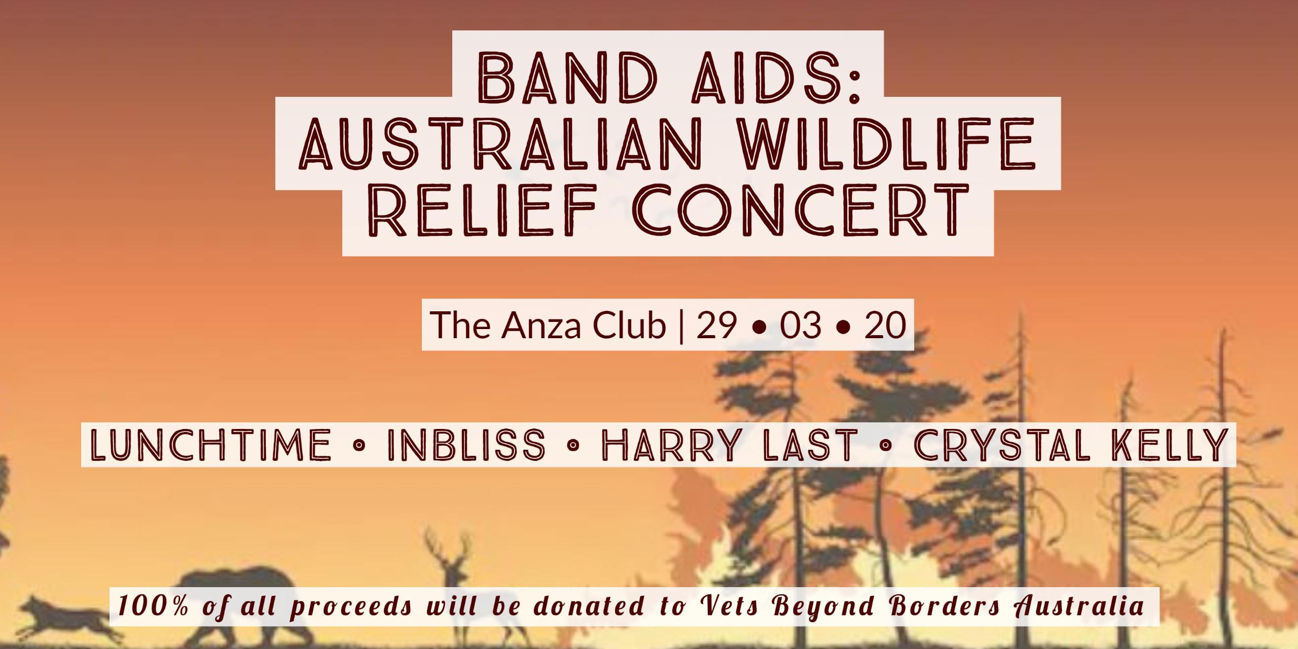 Band Aids: Australian Wildlife Relief Concert