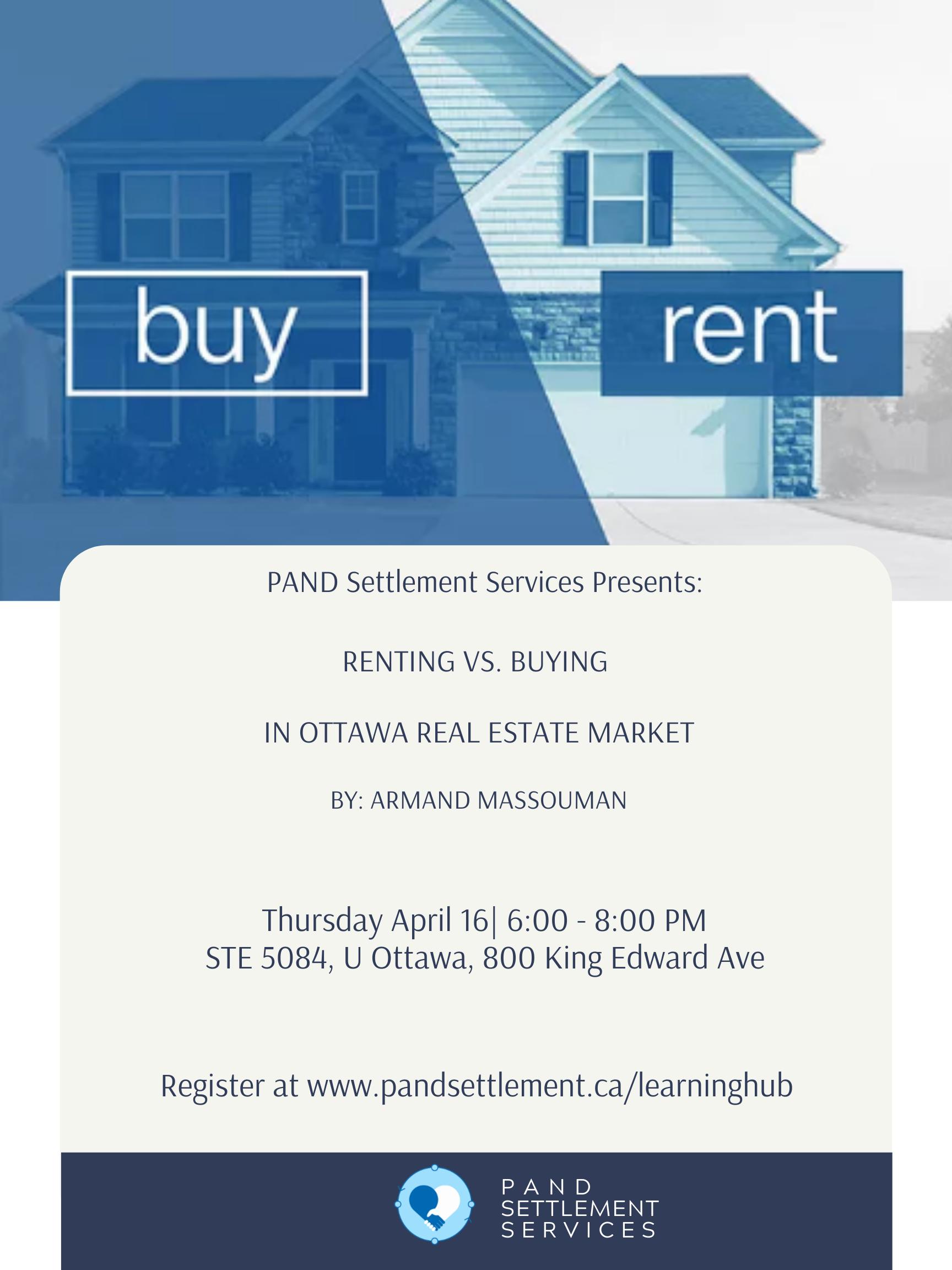 Renting vs. Buying - Ottawa Real Estate Market