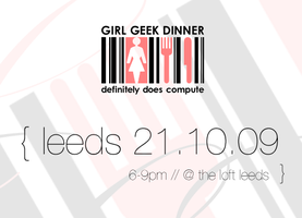 Girl Geek Dinner {October}
