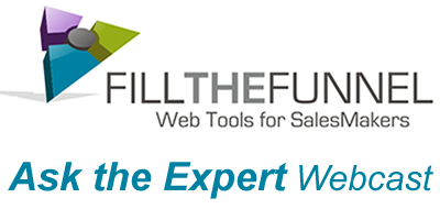 WebTools for Sales-Ask an Expert Weekly Webcast