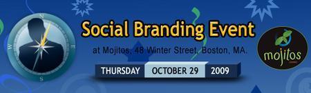 Social Branding Event - Boston 10/29