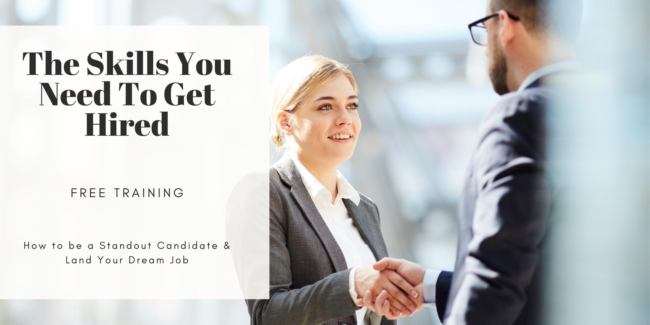 TRAINING: How to Land Your Dream Job (Career Workshop) Pasadena, TX