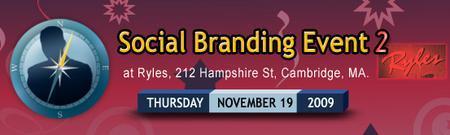 Social Branding Event - Cambridge 11/19