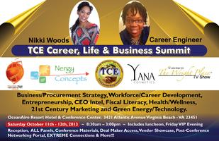 "TCE Career & Biz Summit ""Making CHANGE ...in a BIG Way!"""
