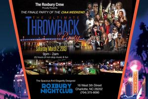 THE ULTIMATE THROWBACK PARTY AT THE NEW ROXBURY NIGHT CLUB I...