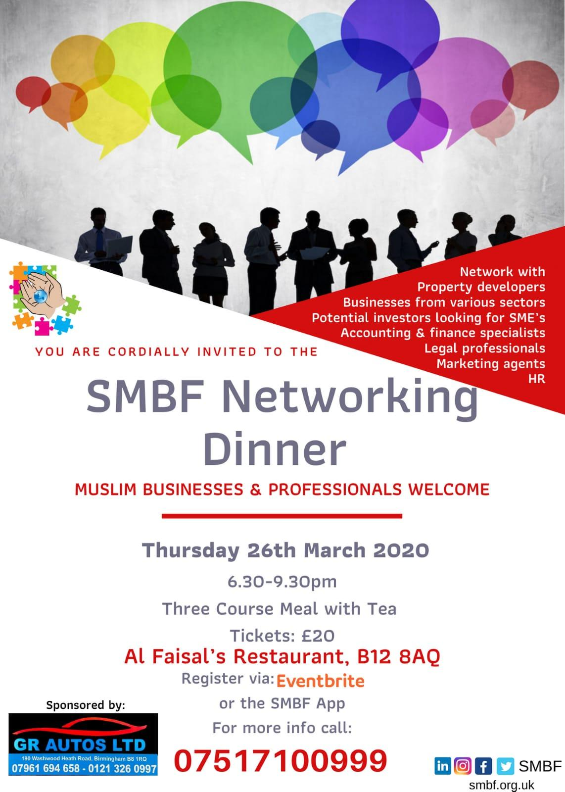 SMBF Networking Dinner