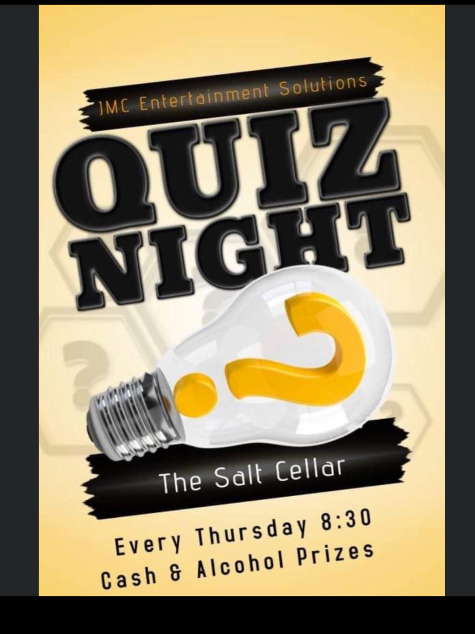 Quiz Night and More @The Salt Cellar