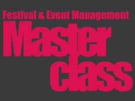 Festival and Event Management Masterclass - Eindhoven