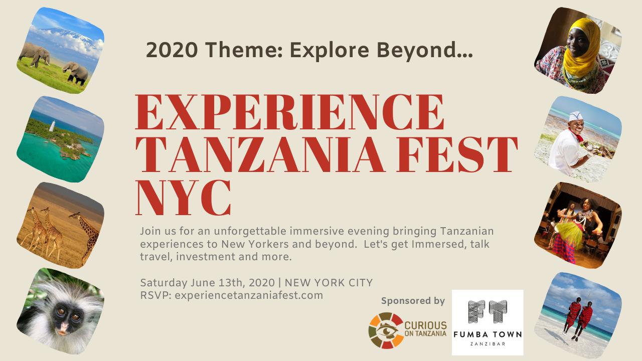 Experience Tanzania Fest | NYC 2020