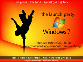 Windows 7 Launch Party - Microsoft finally gets it...
