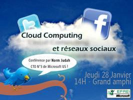 Conférence Cloud Computing and Social Network