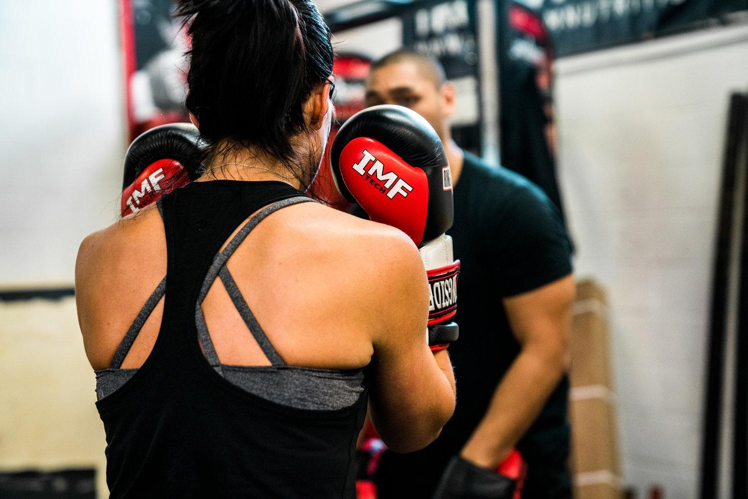 Intro to Boxing Class at Brickhouse