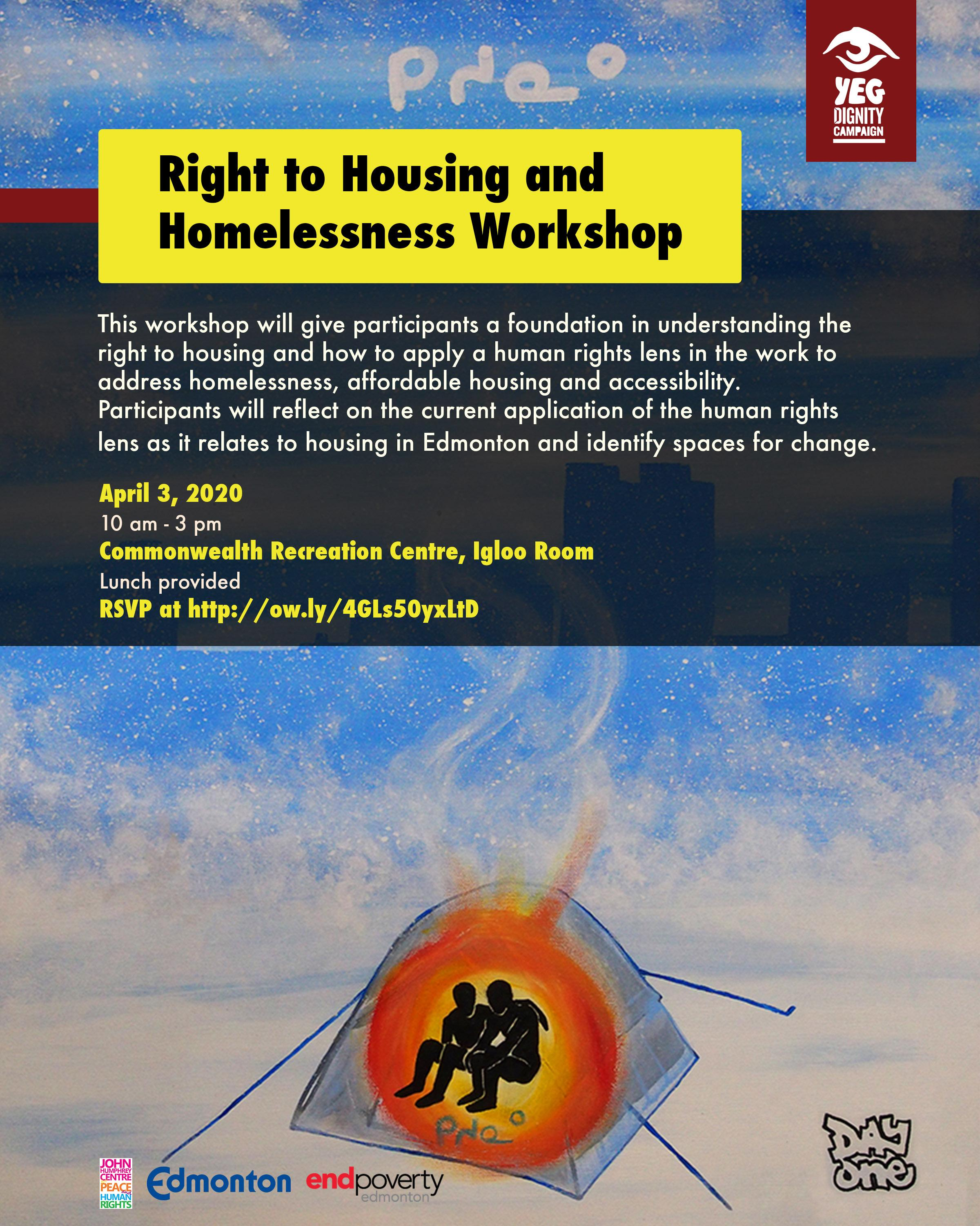 Right to Housing and Homelessness Workshop