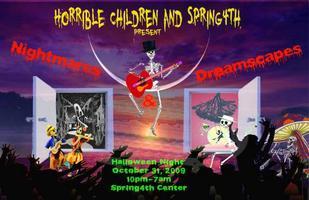 Nightmares & Dreamscapes - Halloween Extravagenza