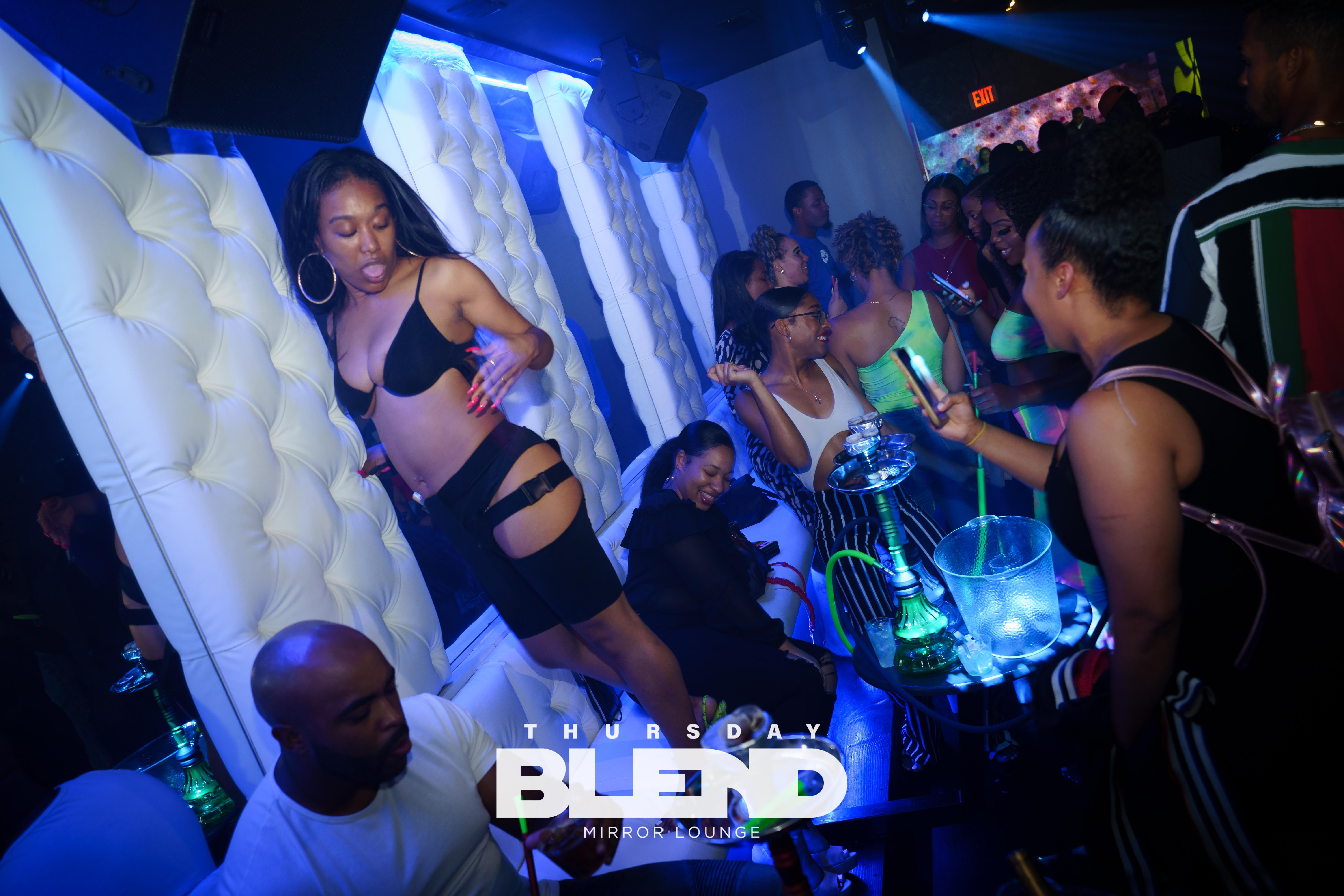DC's Best Thursday Night Vibe! Thursday Blend at Mirror Lounge: 10PM-2AM
