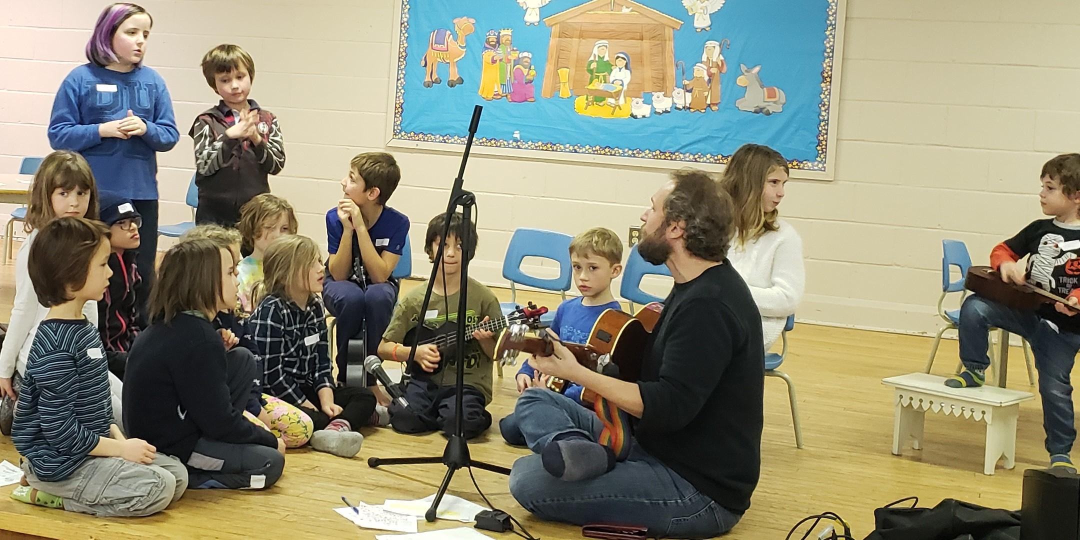 Family Songwriting Workshop with Craig Cardiff