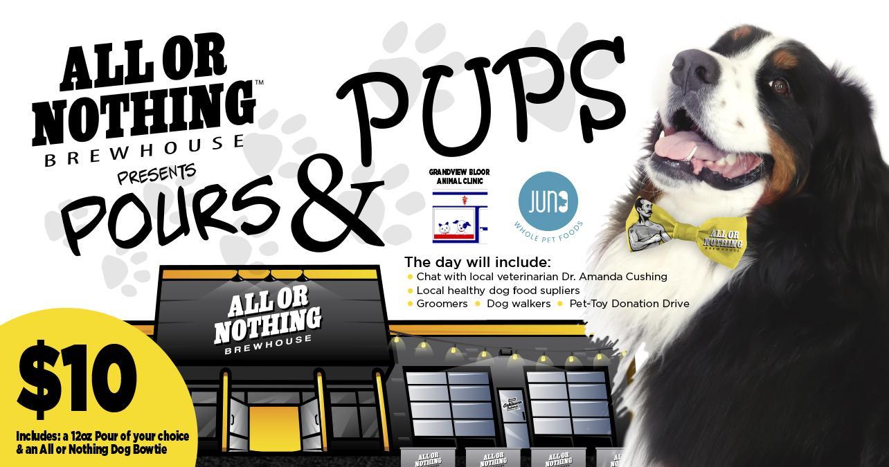 Pours & Pups Celebration Day
