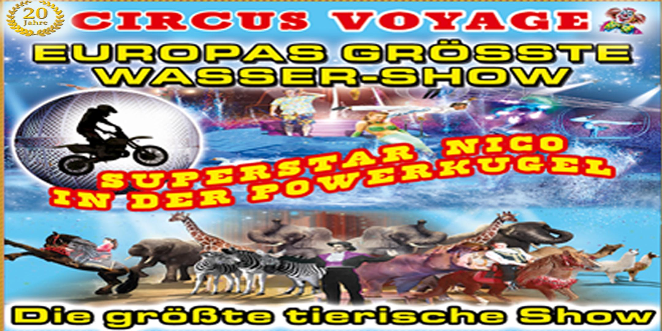 Circus Voyage in Leipzig 2020
